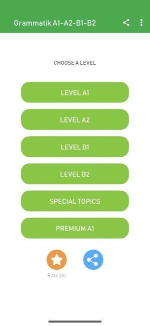 Learn German A1 A2 B1 B2 on the App Store