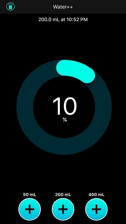 Water++ Water Balance Tracker screenshot-0