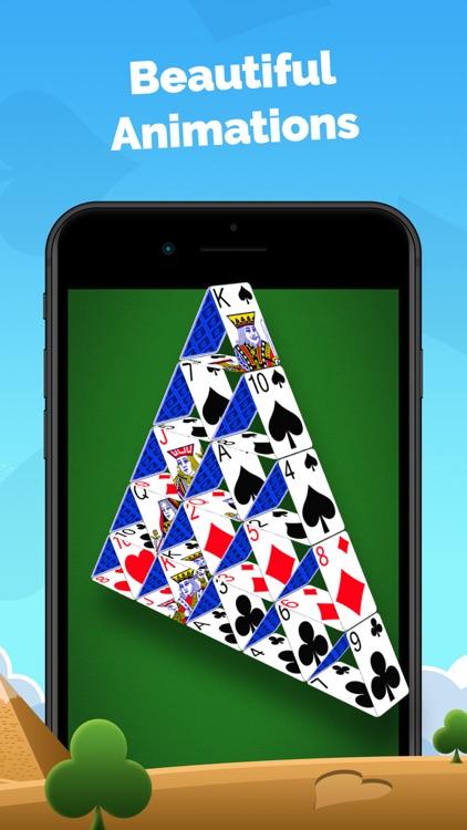 Pyramid Solitaire - Card Game screenshot-3