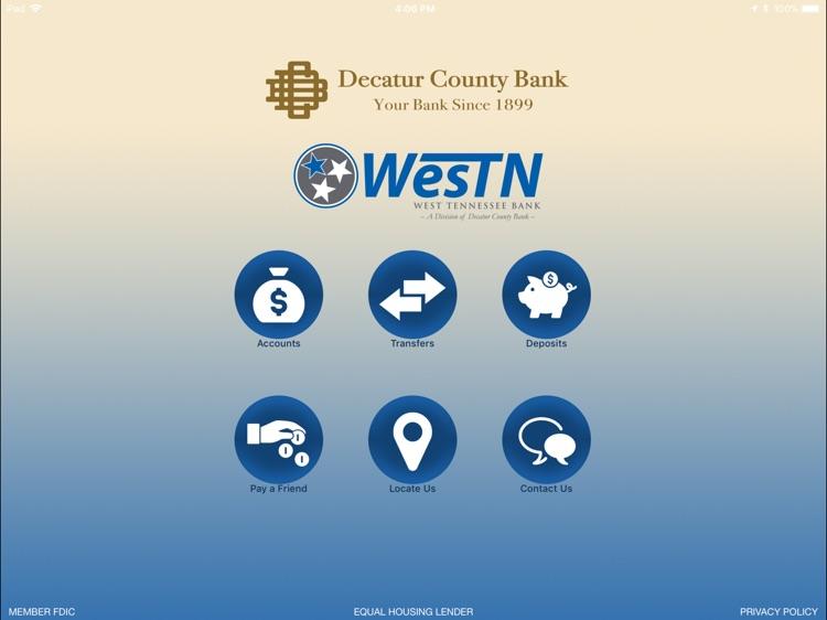 Decatur County Bank Biz iPad