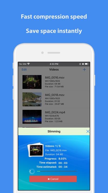 Video Slimmer App screenshot-3