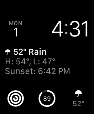 ‎Dark Sky Weather Screenshot