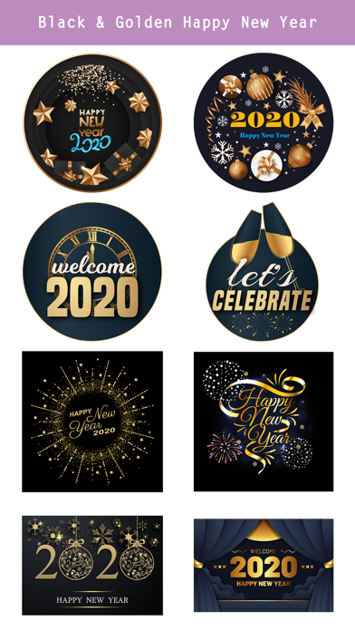Happy New Year - 2020 Stickers screenshot 5