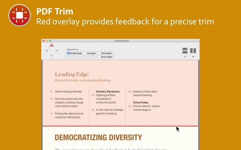 PDF Trim скриншот программы 2