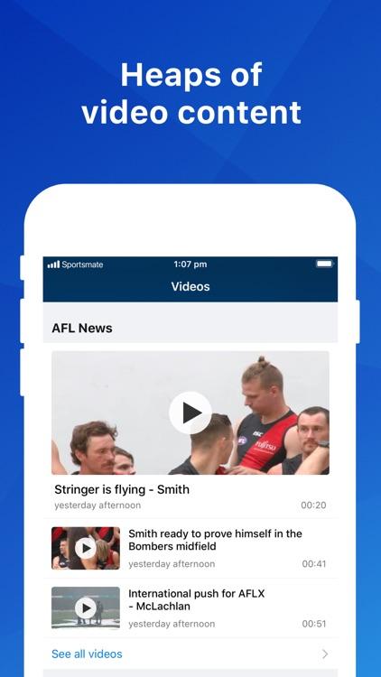 Footy Live: AFL Scores & Stats screenshot-3