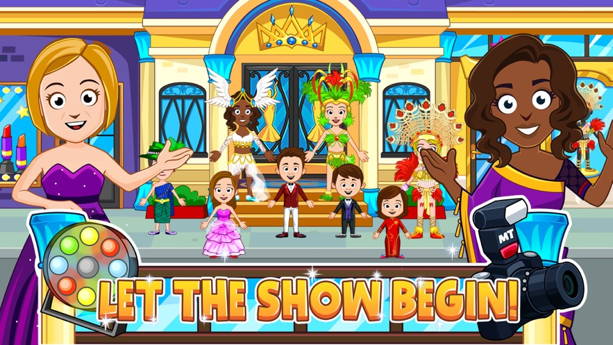 My Town : Beauty Contest Party App 截图
