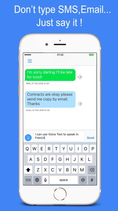 Voice Text review screenshots