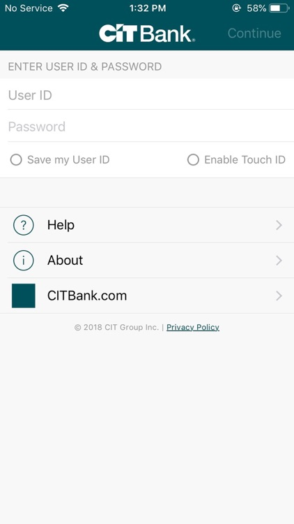 CIT Bank screenshot-0