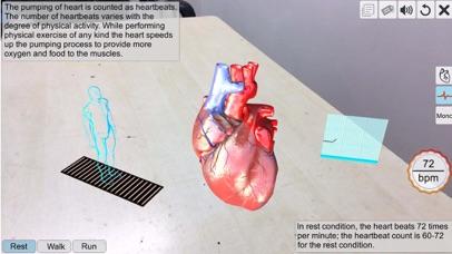AR Human heart – A glimpse screenshot 2