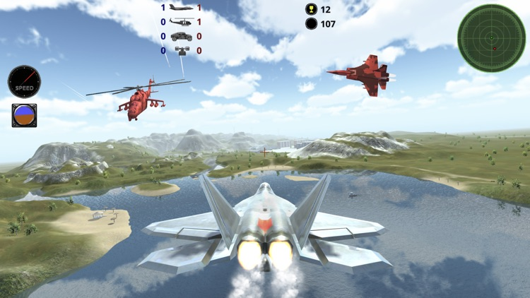 Fighter 3D Lite - Air Combat screenshot-0