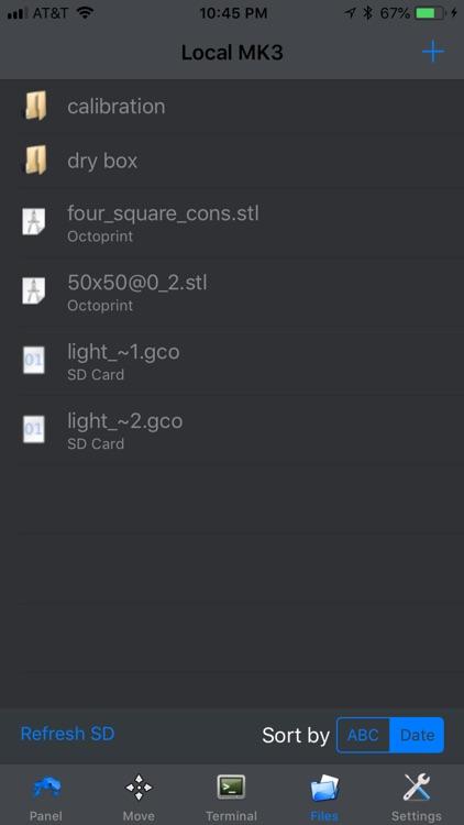OctoPod for OctoPrint screenshot-4