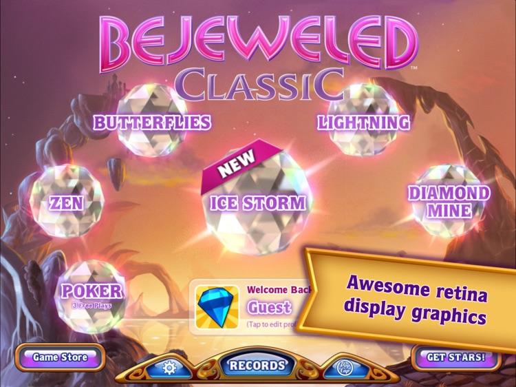 Bejeweled Classic HD screenshot-0