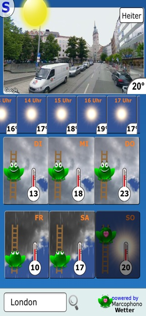 Weather Frog on the App Store