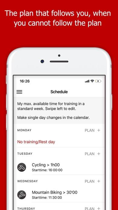 Running training Plans screenshot three