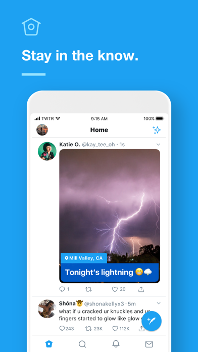 Screenshot for Twitter in United Kingdom App Store
