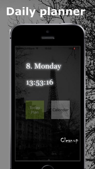 Daily planner *Deep Black screenshot four