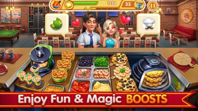 Cooking City-Restaurant Games screenshot two