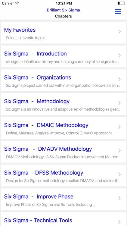 Six Sigma Brilliant screenshot-4