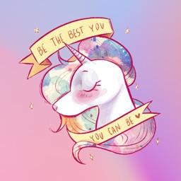 Colourful Unicorn Stickers