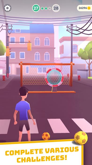 Flick Goal! screenshot 2
