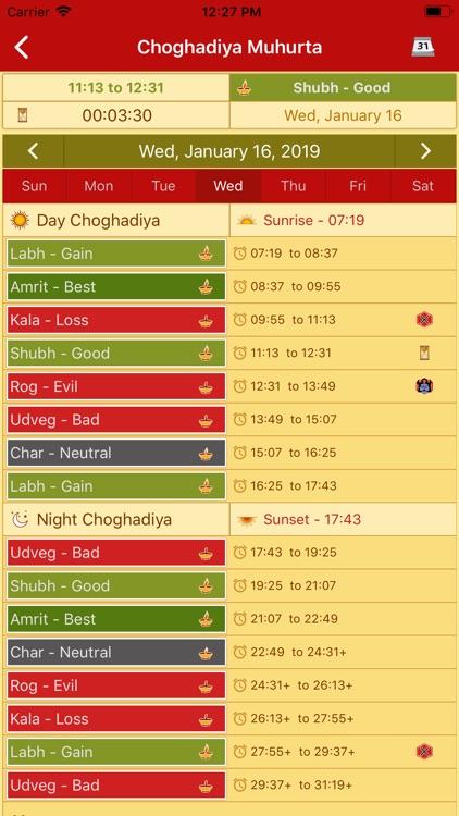 Hindu Calendar - Drik Panchang screenshot-4