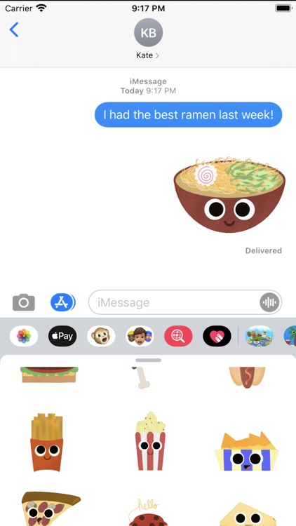 Foods of the World Stickers screenshot-3
