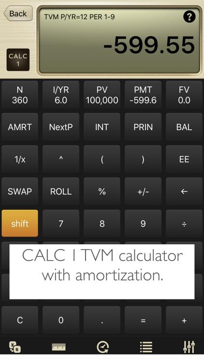 CALC 1 Financial Calculator screenshot-3