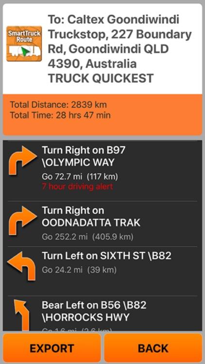 SmartTruckRoute Australia screenshot-3