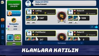 Fishing Clash: Balik Oyunu iphone ekran görüntüleri