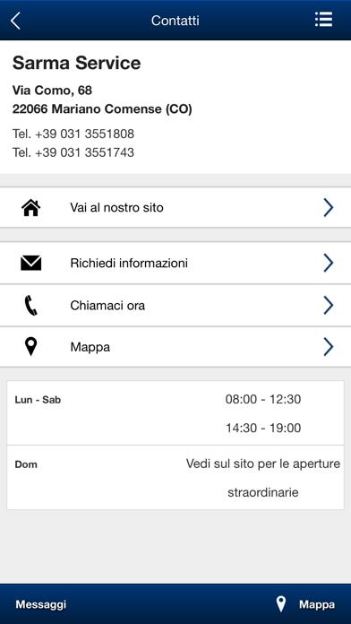 Screenshot of Sarma Service5