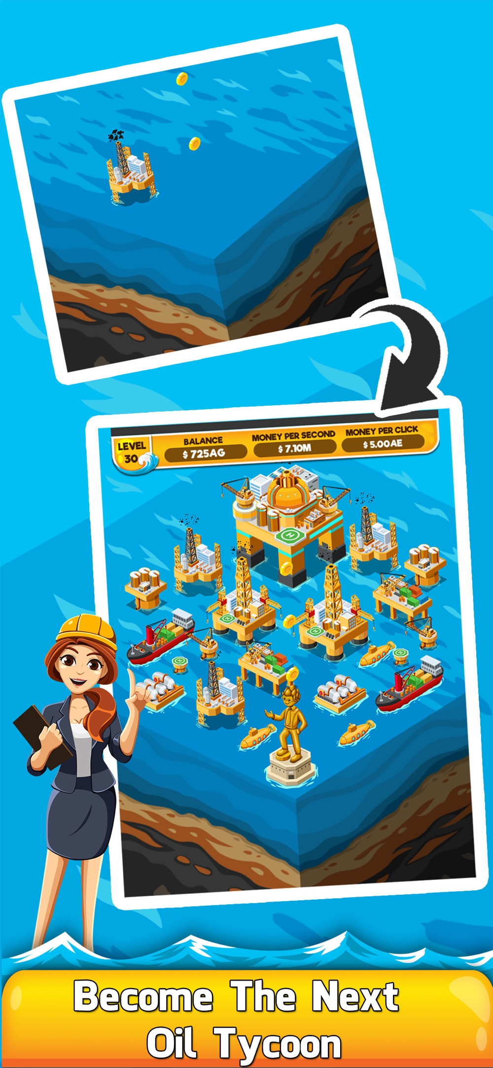 Oil Tycoon 2 – Gas Clicker Inc Cheat Codes