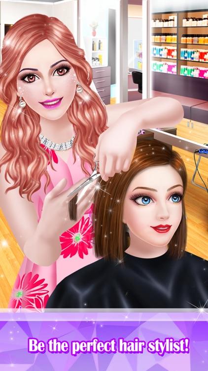 Hair Styles Fashion Girl Salon screenshot-0