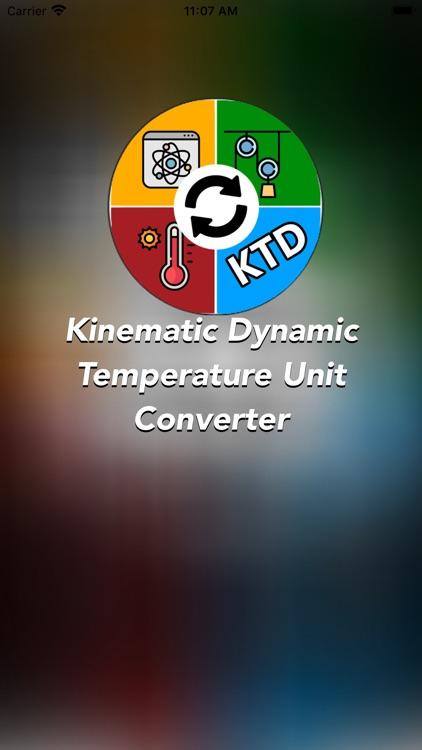 KDT - Units Converter
