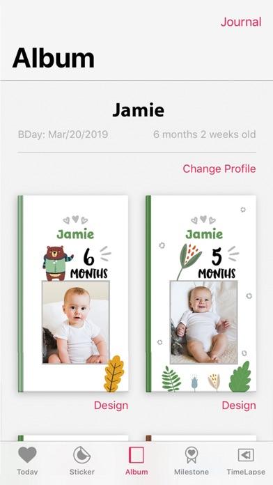 Folio - 赤ちゃんステッカーでかわいい成長アルバム作りのおすすめ画像2
