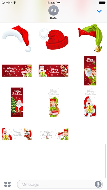 Santas Helpers Stickers screenshot-3