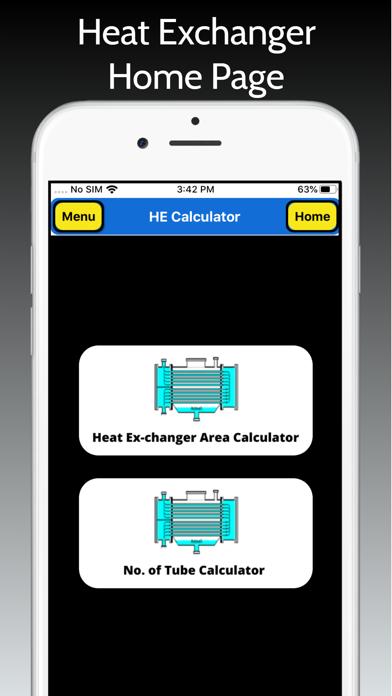 Heat Exchanger Area Pro screenshot 1