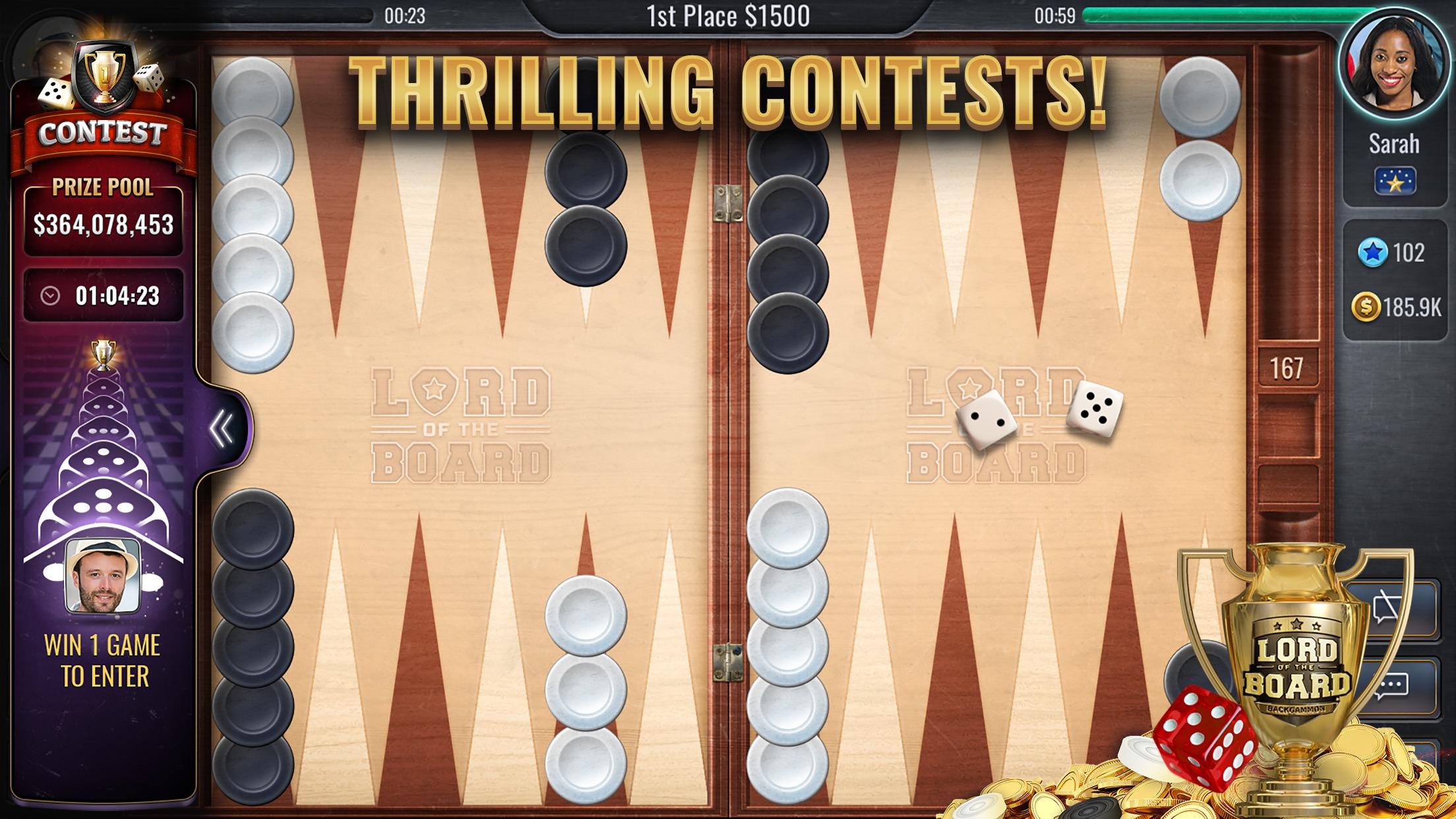 Backgammon – Lord of the Board Screenshot