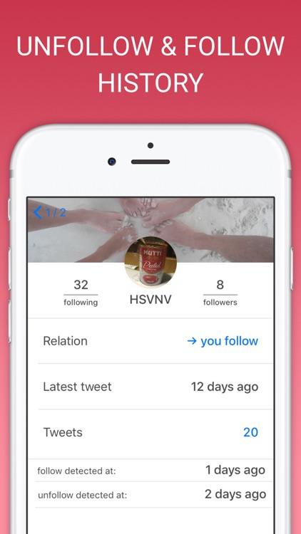 Unfollow Tweeps for Twitter screenshot-3