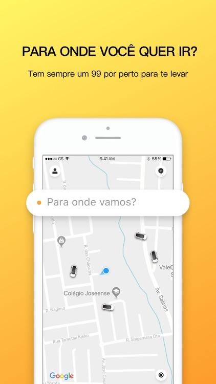 99 - Carro Particular e Táxi screenshot-0