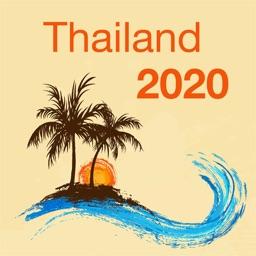 Thailand 2020 — offline map