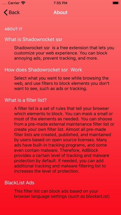Shadowrocket ssr - AD Master screenshot-3