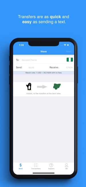 Sendwave–Send Money to Africa on the App Store