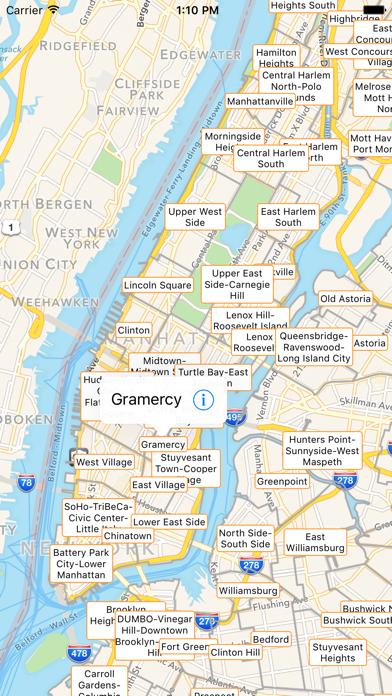 NYC Tourist Map screenshot three