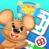 ニャー迷路無料ゲーム - 子供のための楽しい猫のレースゲーム Meow Maze Free Game 3d Live Racing
