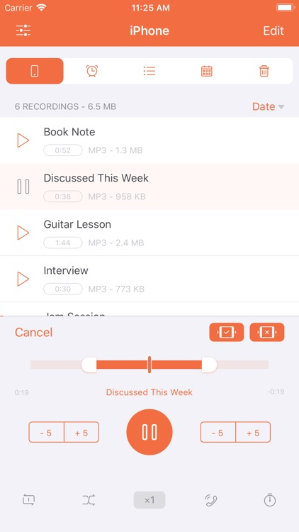 Voice Recorder HD - Recording screenshot-4