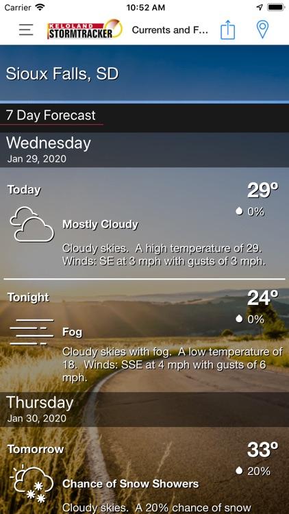 KELO Weather – South Dakota screenshot-4