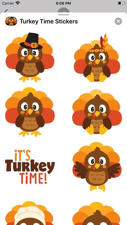 Turkey Time Stickers screenshot-3