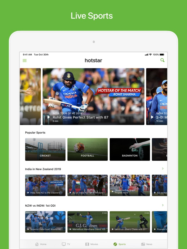 Hotstar on the App Store