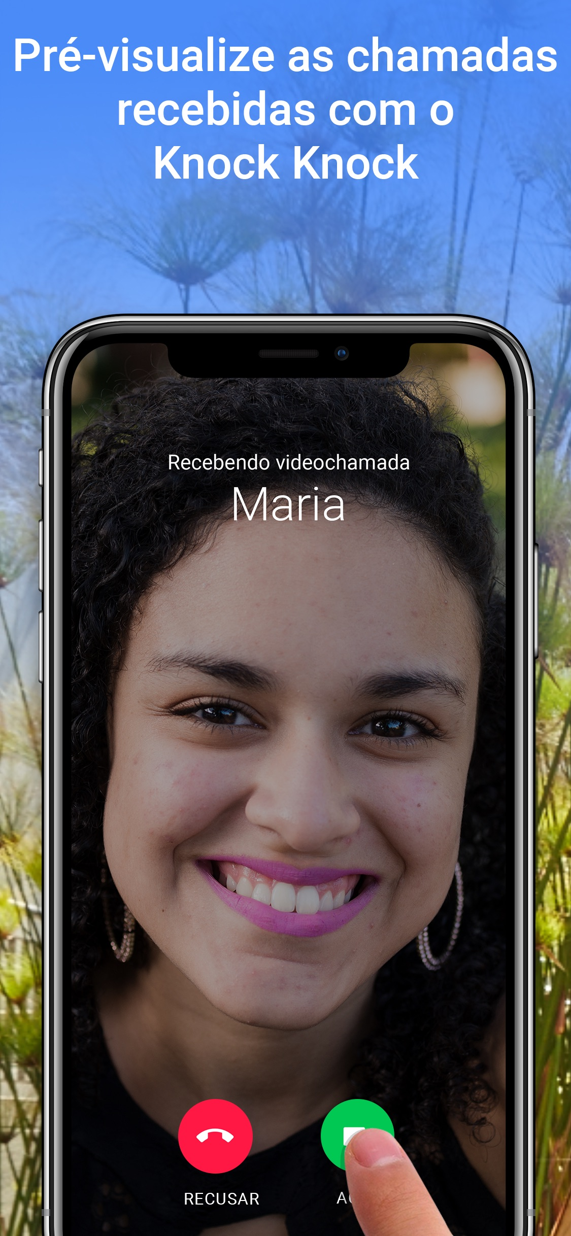 Screenshot do app Google Duo