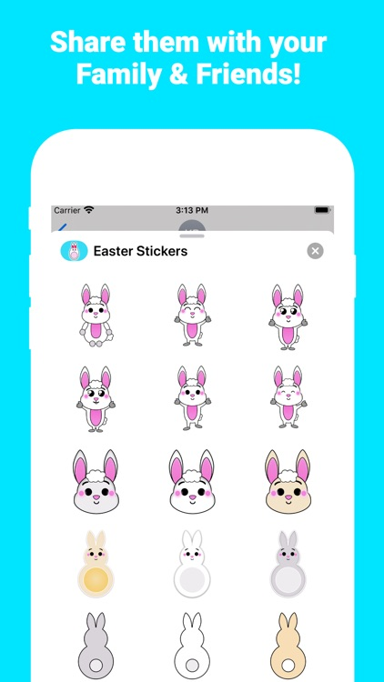 Happy Easter for iMessage screenshot-3